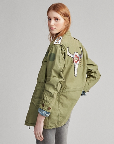 Steer Head Military Jacket