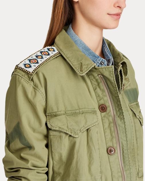 bester Wert heißer verkauf rabatt populäres Design Steer-Head Military Jacket