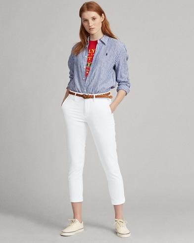 Twill Skinny Trouser