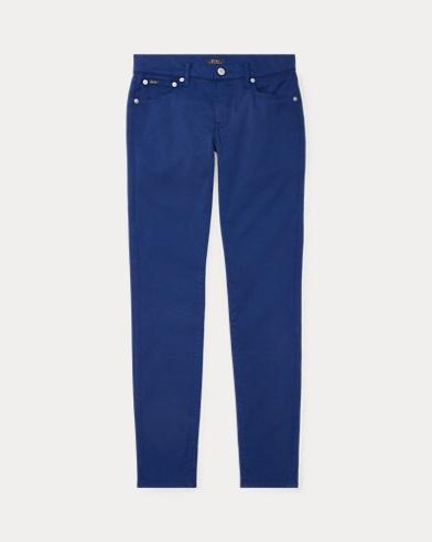 Jeans skinny Tompkins in rasatello