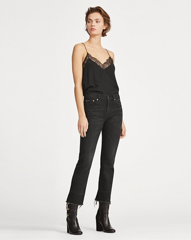 Christie Kick-Flare Crop Jean