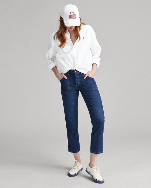 8b7a95100 Polo Ralph Lauren Workwear Denim Skinny Jean 1