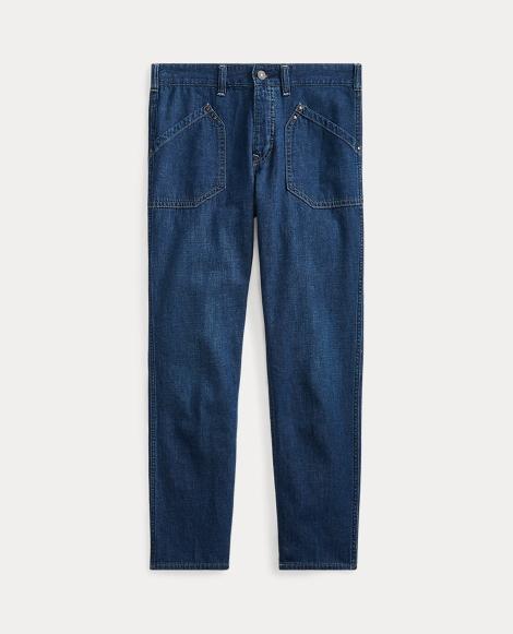 Workwear Denim Skinny Jean