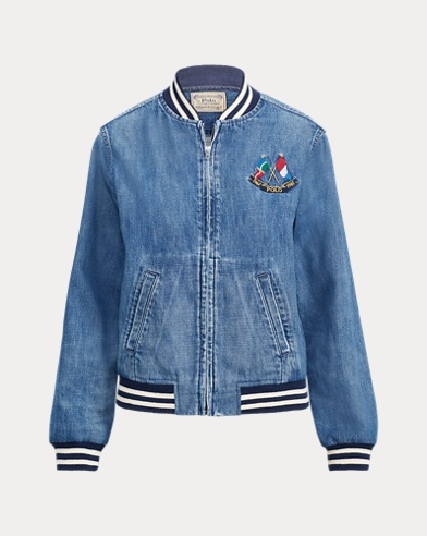 4c8e2092e18a Denim Bomber Jacket. Polo Ralph Lauren