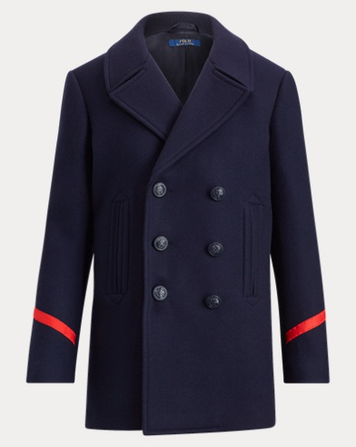 e926622e0b199 Wool-Blend Peacoat. Polo Ralph Lauren