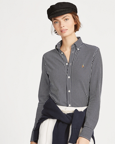 Camicia Oxford a righe
