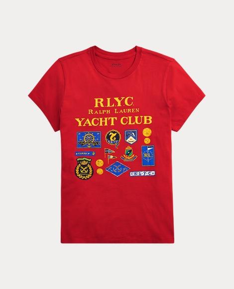 Nautical Cotton T-Shirt