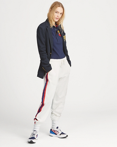Striped Jersey Tracksuit Trouser