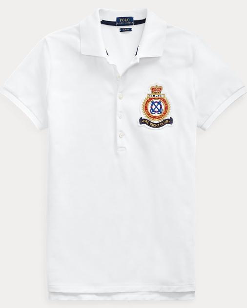 Fit Slim Shirt Crest Polo roCBdxe