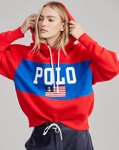 Anchor Flag Fleece Hoodie