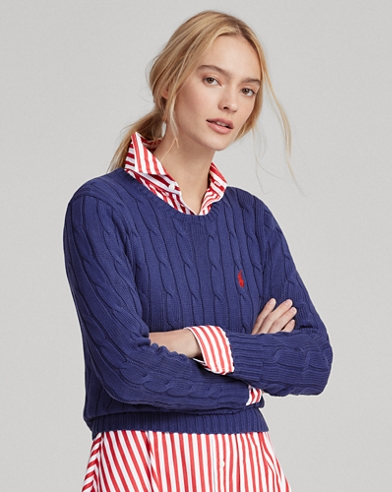 Women s Sweaters in Cashmere, Wool,   Cable-Knit   Ralph Lauren 88053ea3a920