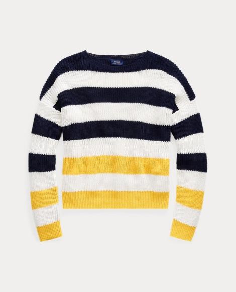 Striped Linen Sweater