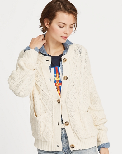 Cable Cotton Cardigan