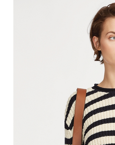 Striped Roll-neck Jumper