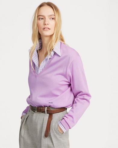 Silk-Blend V-Neck Sweater