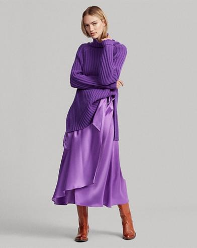 Wool-Cashmere Turtleneck