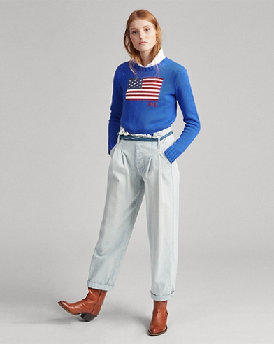 Flag Cotton Jumper