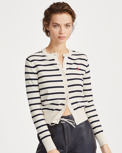 Striped Cardigan Jumper