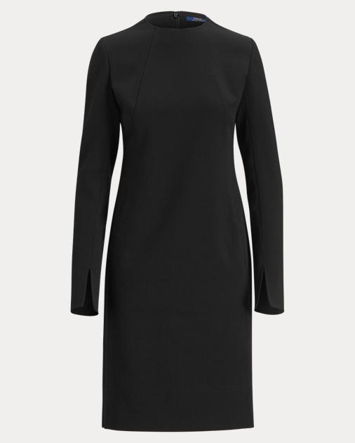 b82f354167 Polo Ralph Lauren Stretch Wool Sleeve-Slit Dress 2