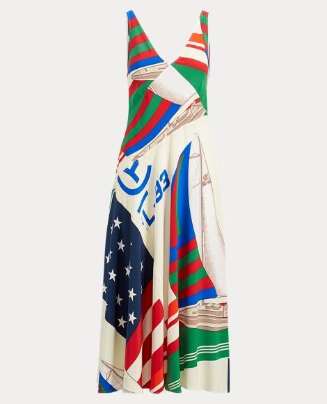 CP-93 Silk Dress