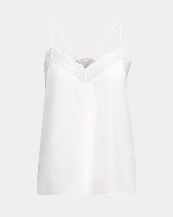 Silk Lace Camisole