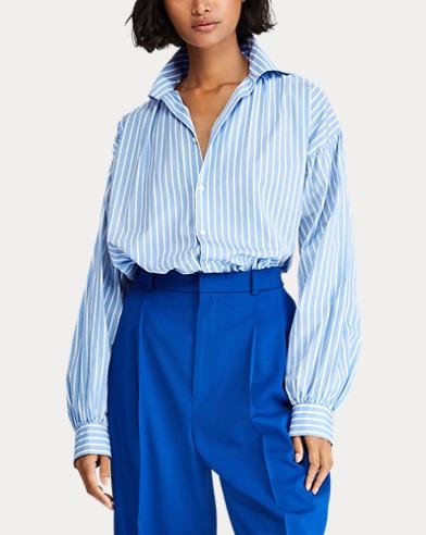 9b572fac4206e3 Button-down-Bluse mit Puffärmeln. 20% Preisnachlass auf ausgewählte Farben. Polo  Ralph Lauren