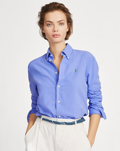 Camicia Oxford Relaxed-Fit