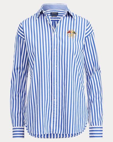 707ac57f4caaa5 Boyfriend Fit Striped Shirt. Take ...
