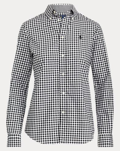 5b3d52c62e5 Slim Fit Gingham Shirt. color (3)  953a Black White ...