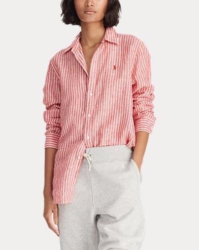 b725e66acbbf8c Camicia in lino Relaxed-Fit. Sconti fino al 50%. Polo Ralph Lauren