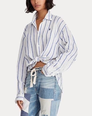b9a88bb3ed4 Women's Designer Shirts & Blouses   Ralph Lauren FR