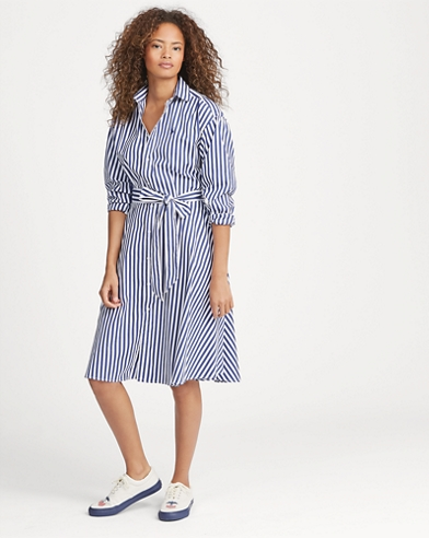 a377ae038f6 Cotton Broadcloth Shirtdress