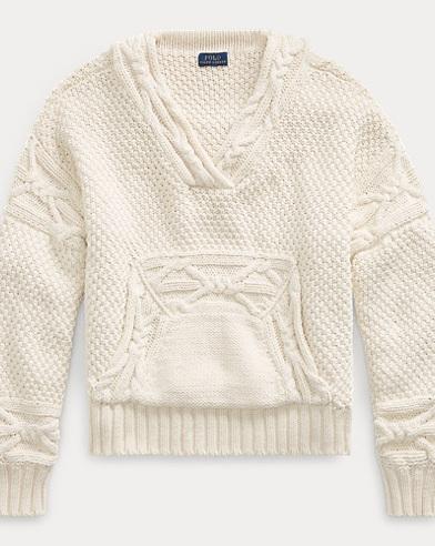 Cable-Knit Pullover Sweater. Polo Ralph Lauren 3fa3261e7