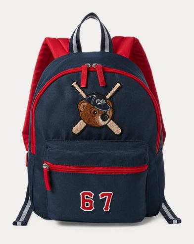 Bear-Patch School Backpack