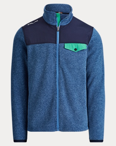Fleece Mockneck Jacket