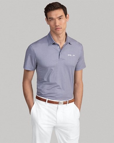 Polo técnico Custom Slim-Fit