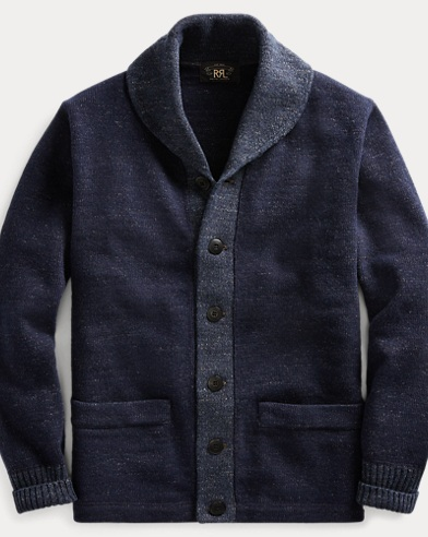 Cotton-Wool Shawl Cardigan