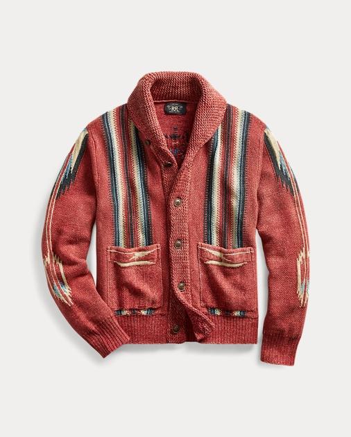 Cotton Linen Silk Cardigan by Ralph Lauren