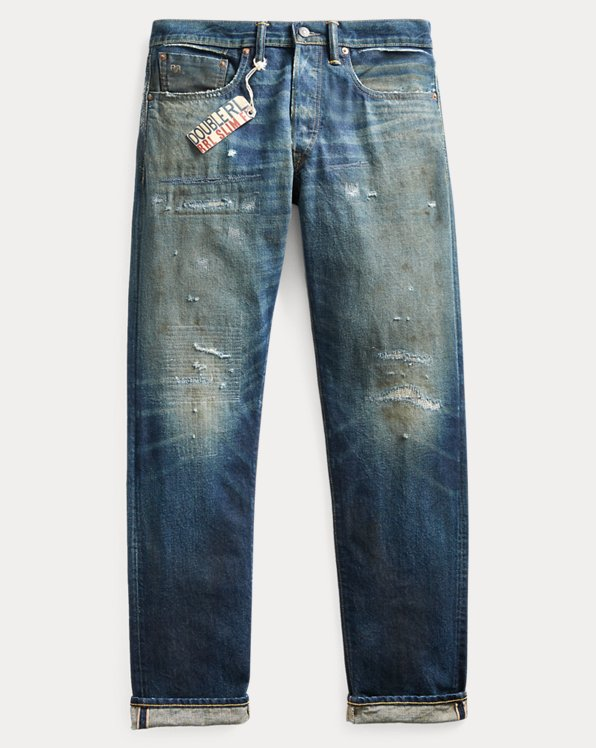 Selvedge-Jeans im Slim-Fit