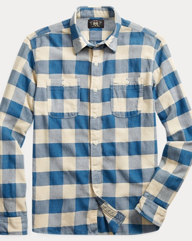 Checked Twill Workshirt