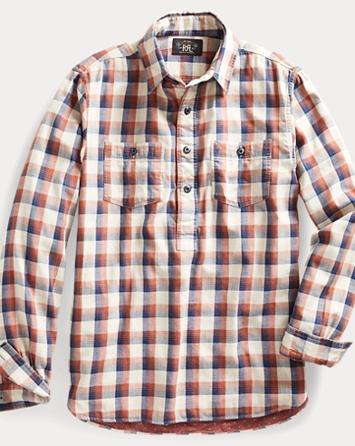 Plaid Workshirt Popover