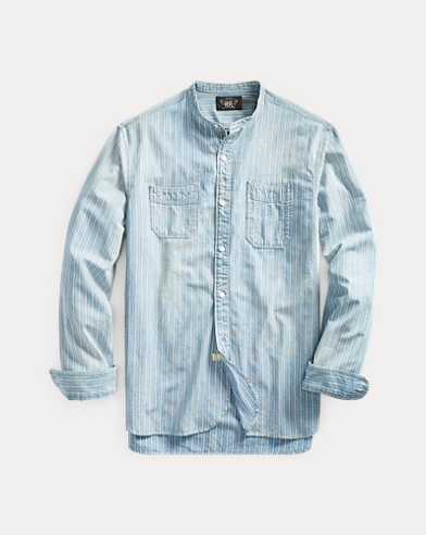 Striped Chambray Workshirt