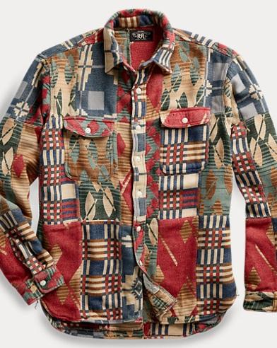 Patchwork Cotton Workshirt
