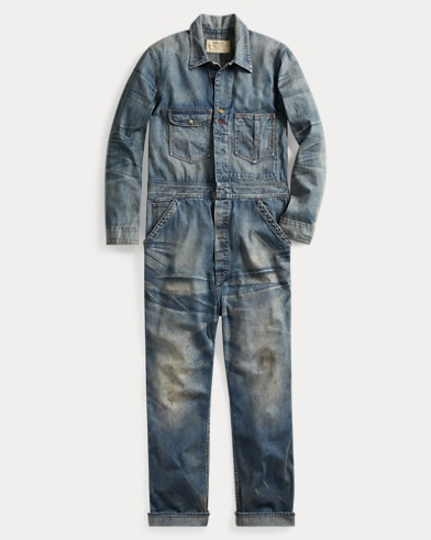 Indigo Denim Coverall