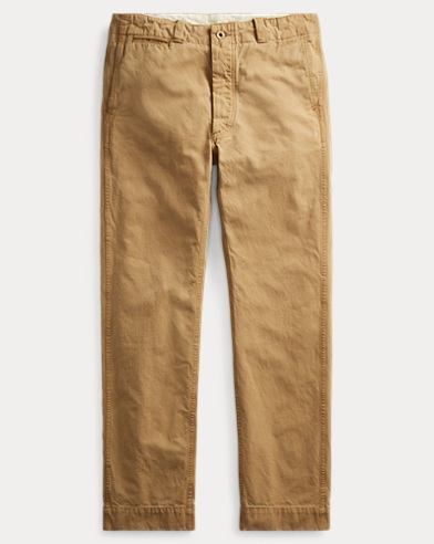 Cotton Canvas Pant