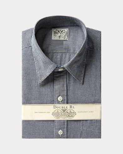 Indigo Chambray Dress Shirt