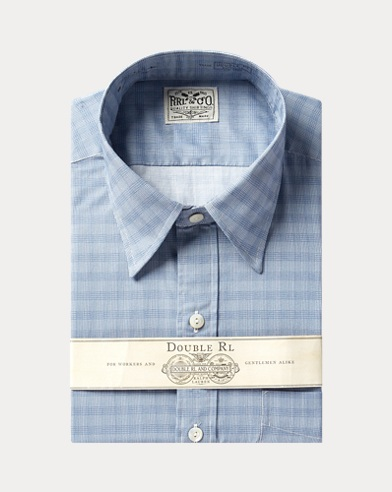 Eli Plaid-Print Shirt