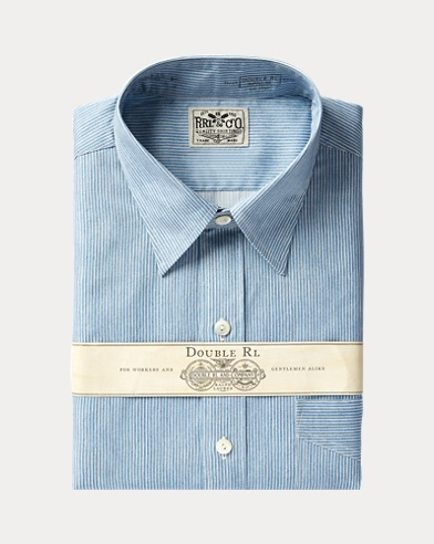 Eli Stripe-Print Shirt