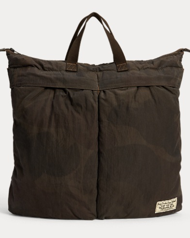 e564c98ad7 Polo Ralph Lauren. Pebbled Leather Tote.  460.00. Save to Favorites · Camo  Helmet Bag