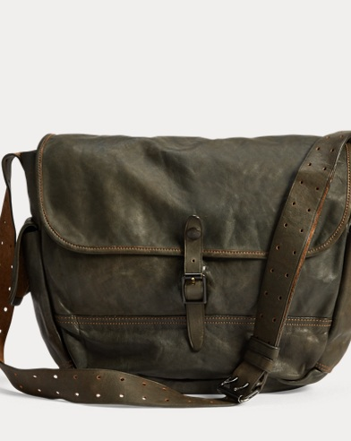 b1f6ebf884 Leather Messenger Bag